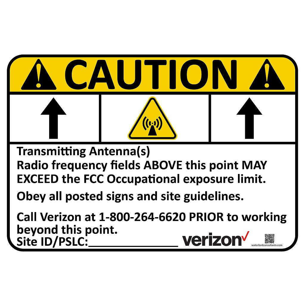 Caution Above (Verizon Wireless)